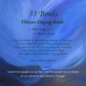 33 Tibeten Singing Bowls